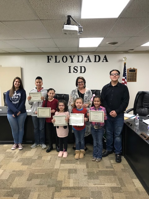 Student and Educator of the Month January