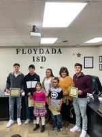 January Student and Staff of the Month