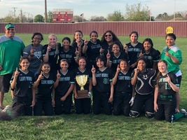 2019 District Girls Softball Champs