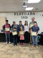 February Student and Staff of the Month