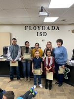 December Student and Staff of the Month